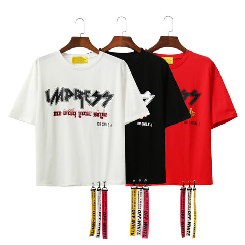 IUYZW RIBBON TEES