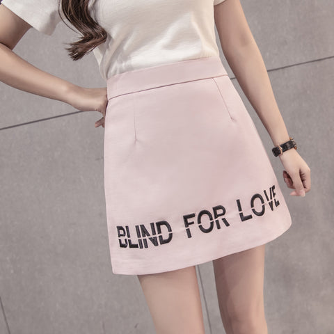 BLIND FOR LOVE SKIRT