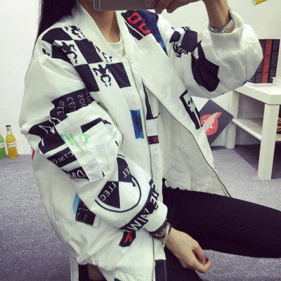 GRAFFITI LETTERS JACKET