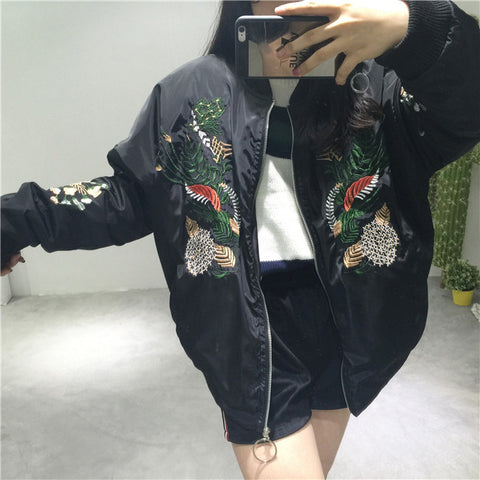 FLOWER EMBROIDERY JACKET