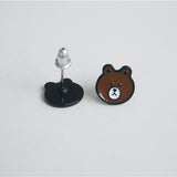 BROWN BEAR EARRINGS