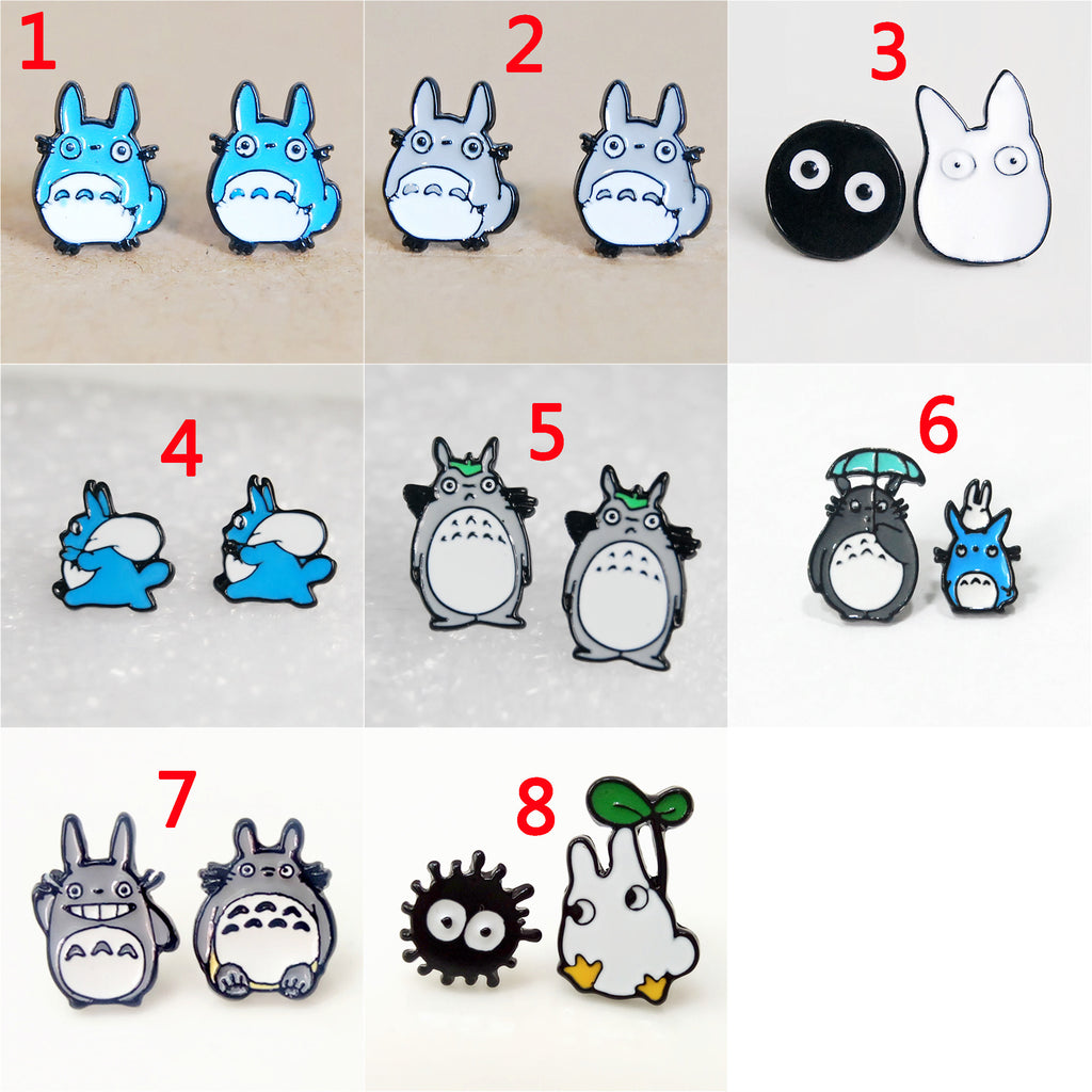CUTE TOTORO EARRINGS