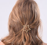 SlogPith FIVE-POINTED STAR HAIR CLIPS