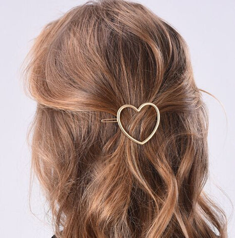 SlogPith HEART HAIR CLIPS