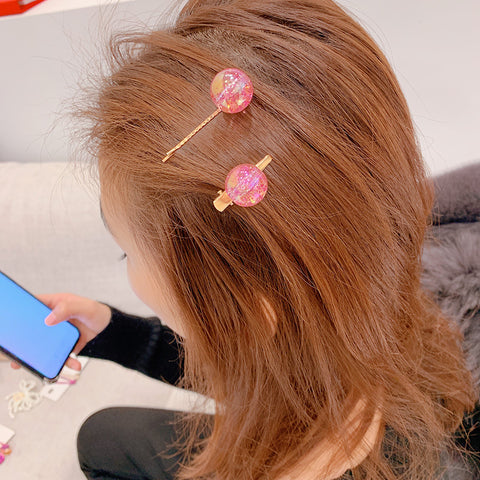 IUYZW CRYSTAL BEADS HAIRPINS