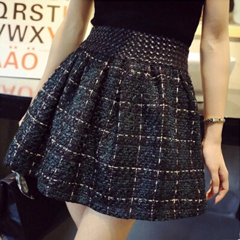 IUYZW PLAID SKIRTS