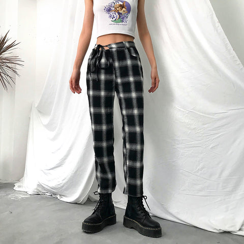 SlogPith HARLAN PLAID PANTS