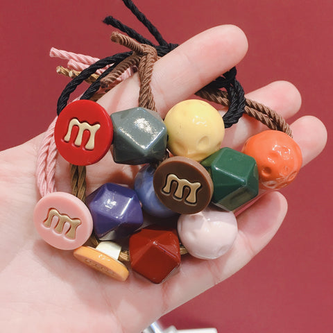 LETTER 'M' HAIR ACCESSORIES