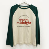 """WOOM MIDNIGHT"" LOOSE TOPS"