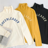 """CHEERLEADER"" COTTON TOPS"