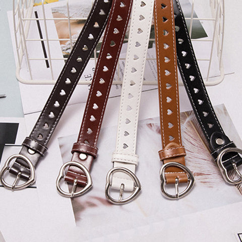 IUYZW RETRO LOVE HEART BELTS