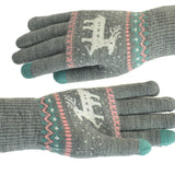 SlogPith CHRISTMAS SIKA DEER GLOVES