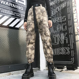 SlogPith STREET CAMOUFLAGE HIP HOP PANTS