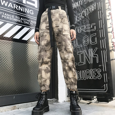 STREET CAMOUFLAGE HIP HOP PANTS