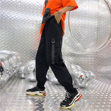 SlogPith STREET STYLE HIP HOP LOOSE PANTS