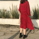 SlogPith RETRO SMALL FLORAL DRESSES