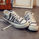 ZEBRA CANVAS SHOES