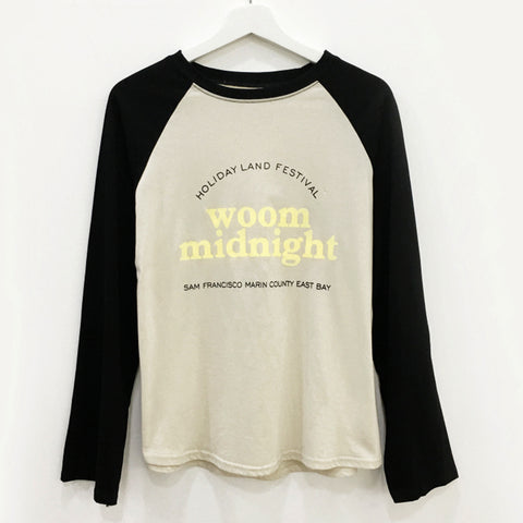 "IUYZW ""WOOM MIDNIGHT"" LOOSE TOPS"
