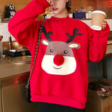 CHRISTMAS DEER POMPOM SWEATERS