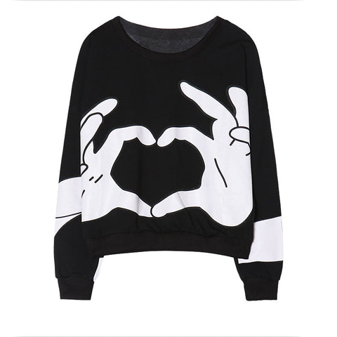 "IUYZW ""HANDS AND HEART"" SWEATERS"