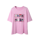 IUYZW ANIME PRINTED LOOSE TEES