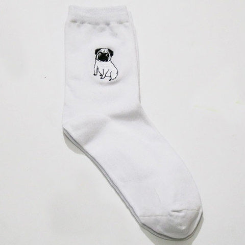 SlogPith PUG DOG SOCKS
