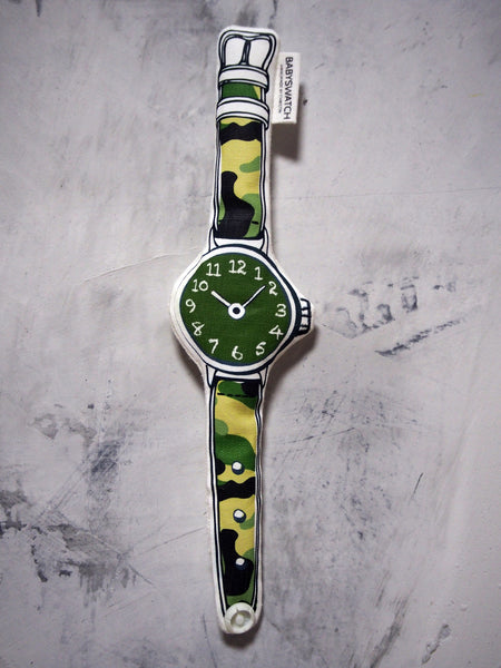 Babyswatch Non-Rattle MILITARY02