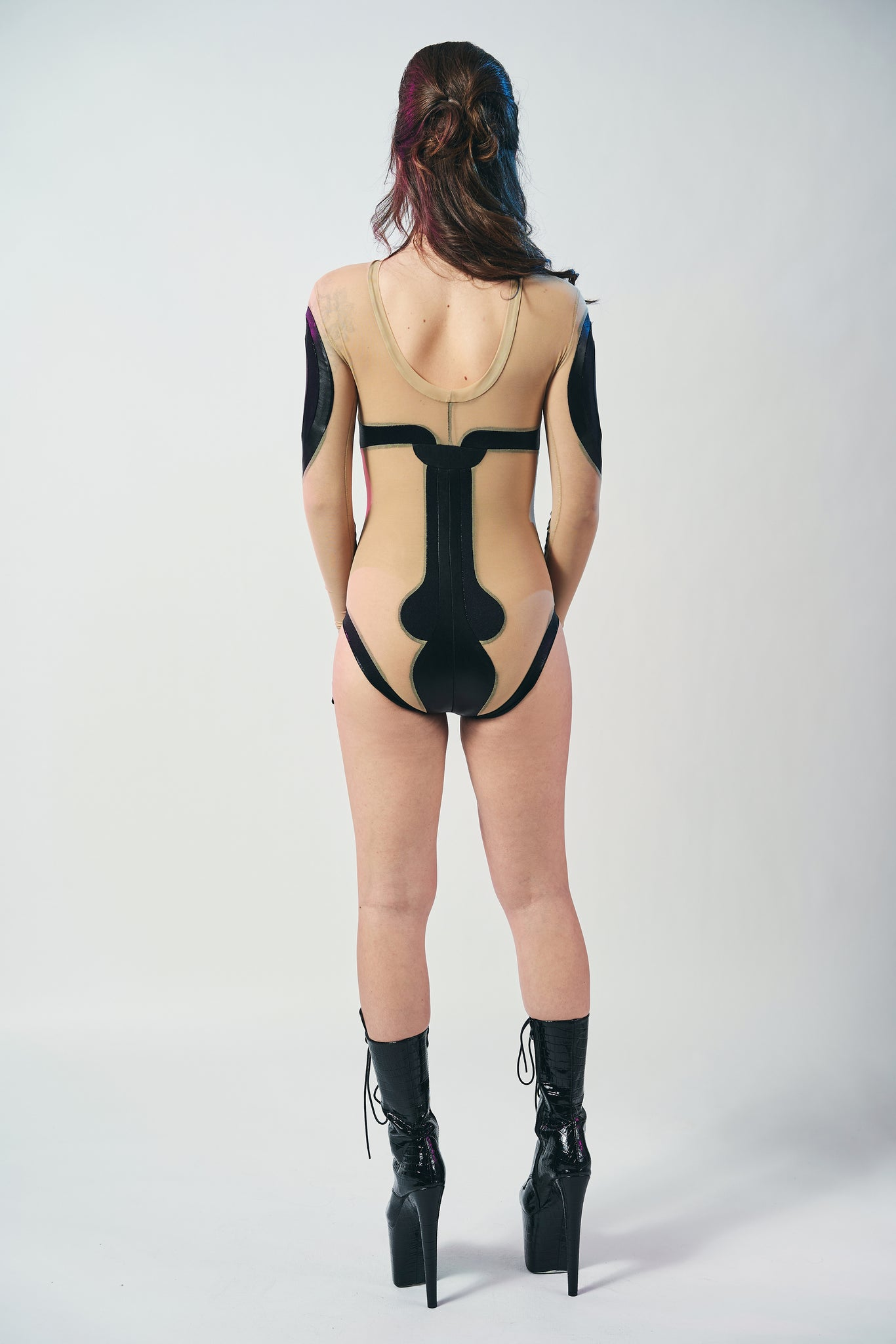 Templar Black Bodysuit