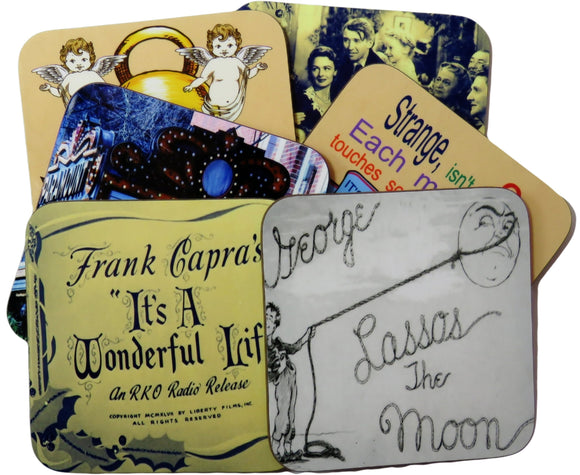it's a wonderful life coasters