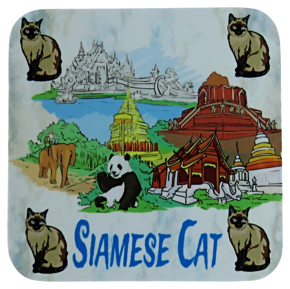 siamese cat coaster
