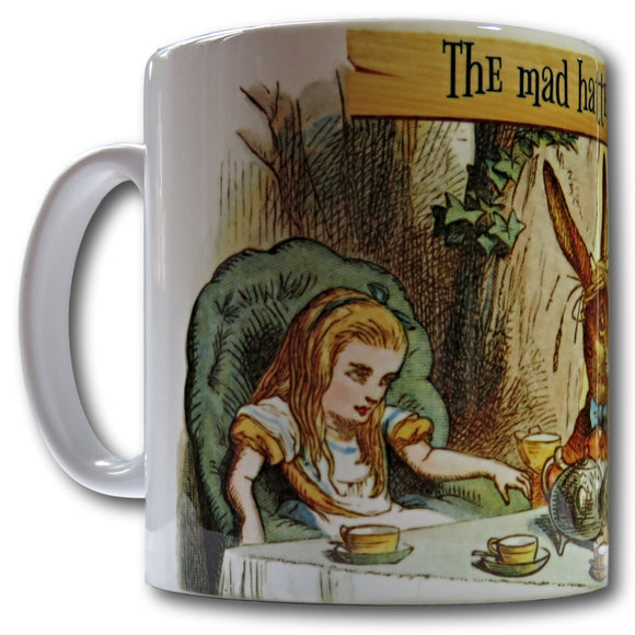 mad hatters tea party mug