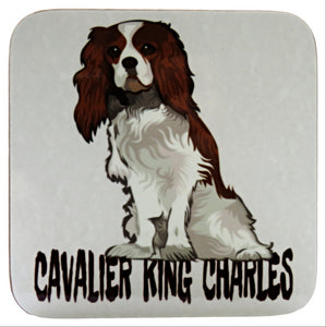 Cavalier King Charles Spaniel Single Coaster