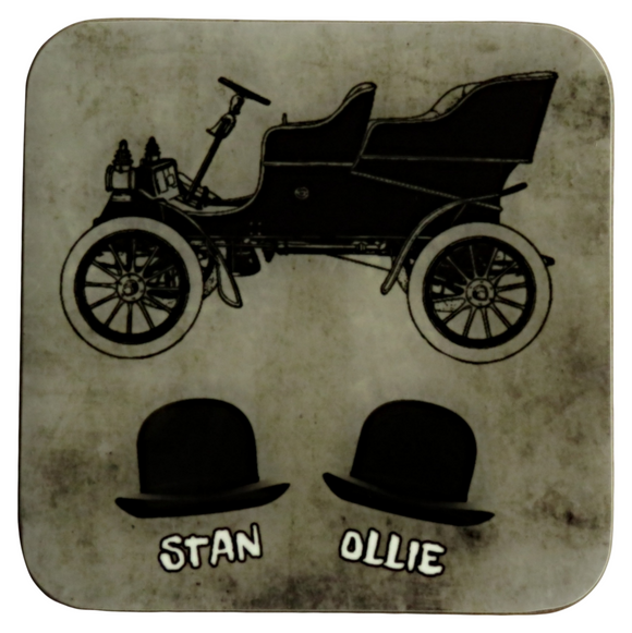 laurel and hardy coaster