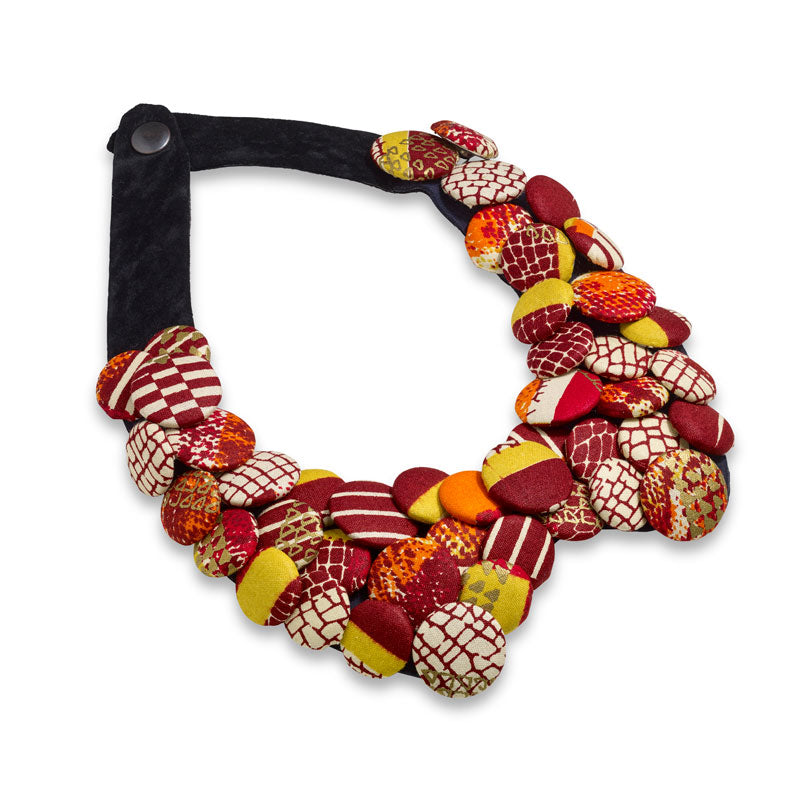 Nandi Flame Wave Necklace