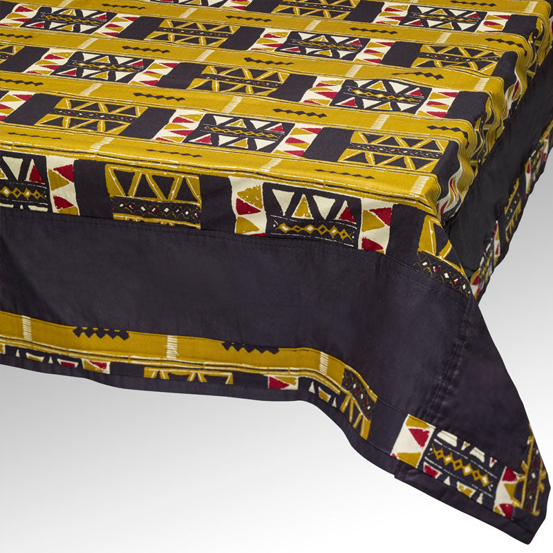 Tamboti (Olive) Tablecloth Set