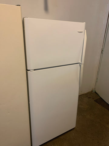 Frigidaire White 18cuft top mount
