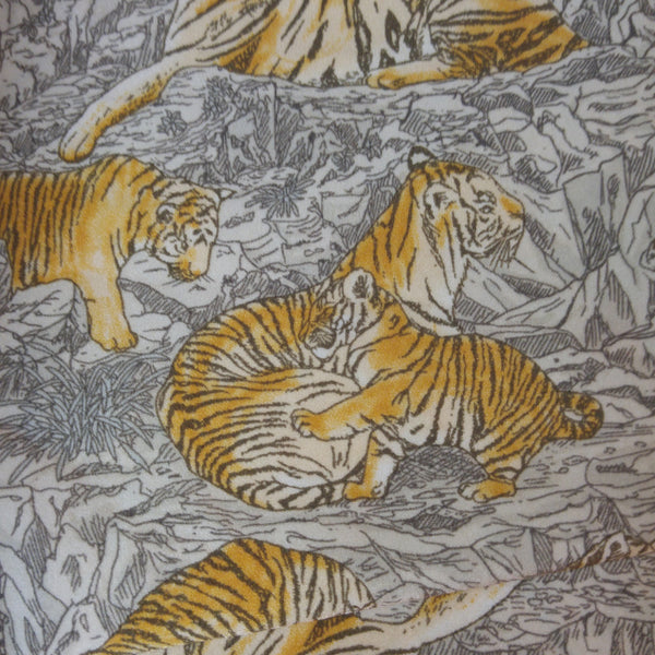 tiger print swimsuit fabric