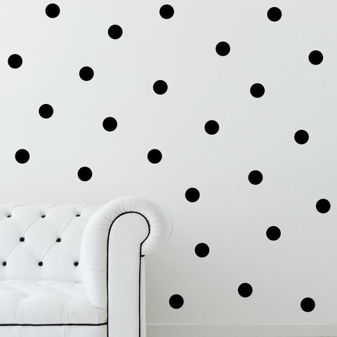 "3"" Mini Polka Dots // Wall Decals - Twelve9 Printing"