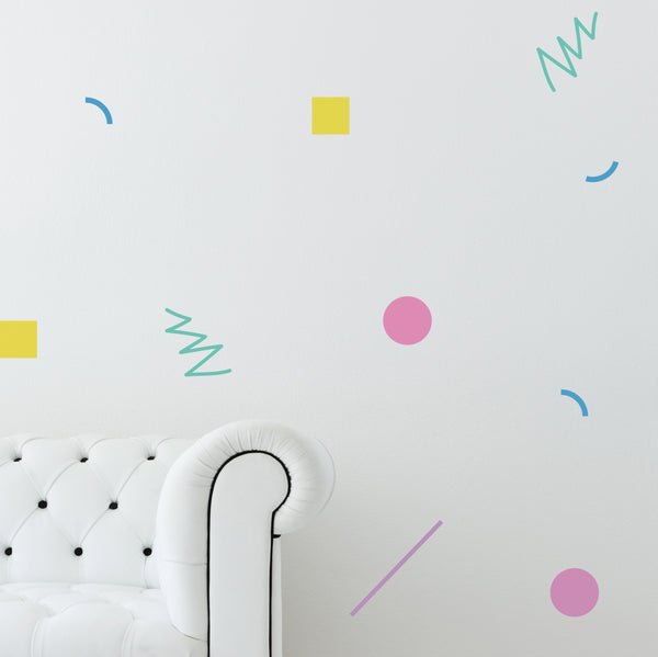 80's Decor // Wall Decal - Twelve9 Printing
