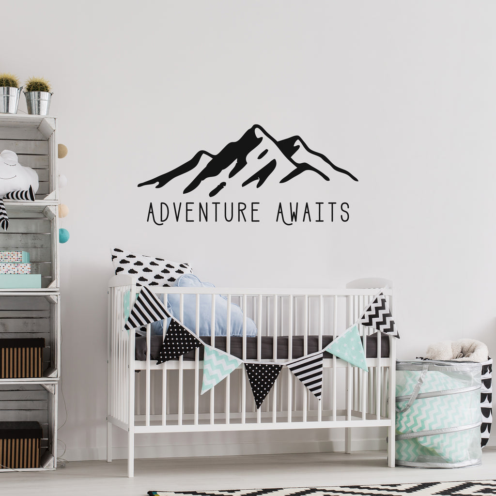 Adventure Awaits // Wall Decals - Twelve9 Printing