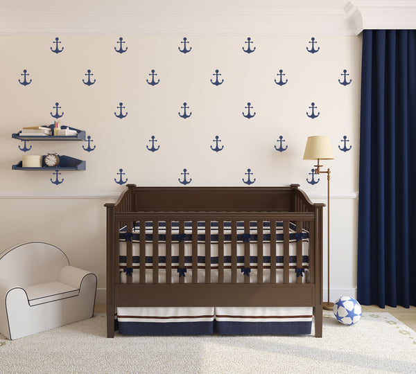 Mini Anchor // Wall Decals - Twelve9 Printing