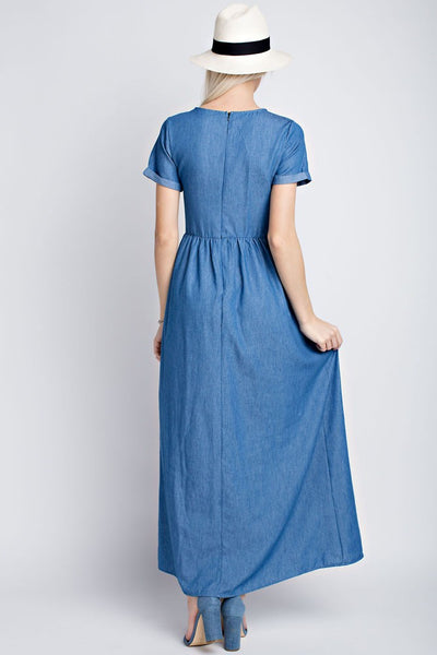 The Audrey Jean Maxi Dress - Twelve9 Printing