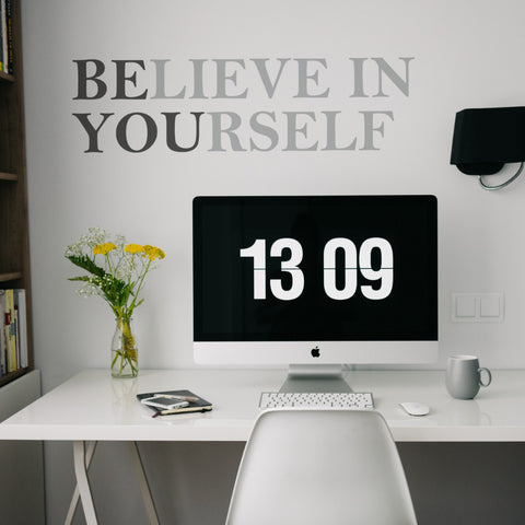 Believe In Yourself // Wall Decals - Twelve9 Printing