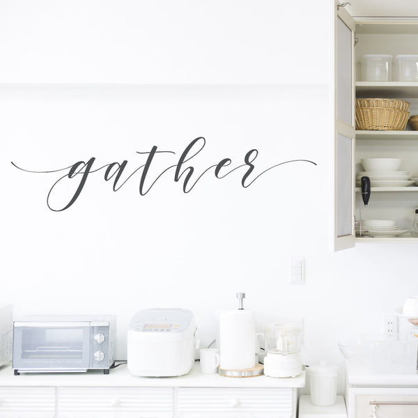 Gather // Wall Decals - Twelve9 Printing