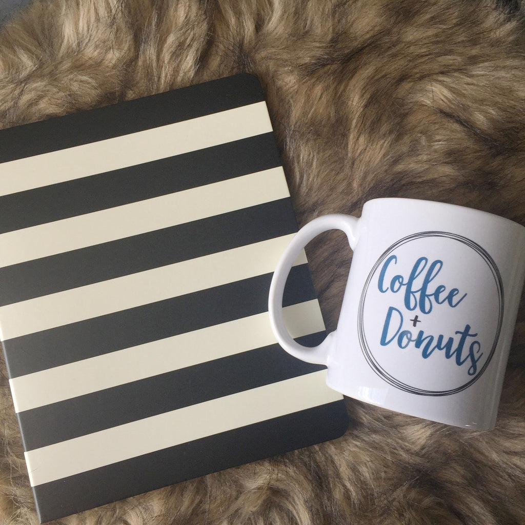 Coffee + Donuts // Coffee Mug - Twelve9 Printing