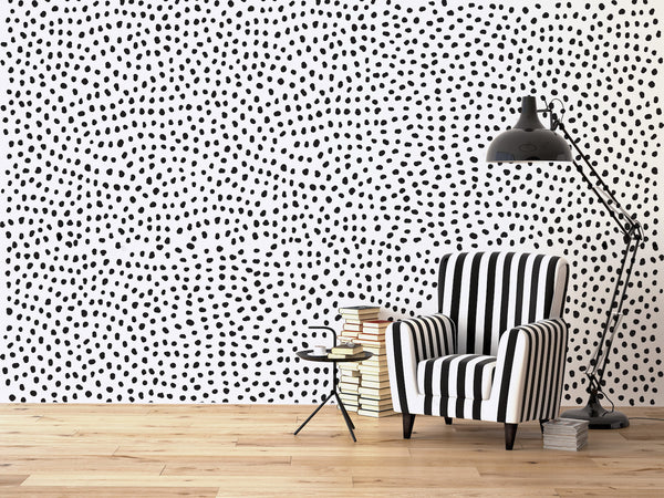 Irregular Polka Dots // Wall Decals - Twelve9 Printing