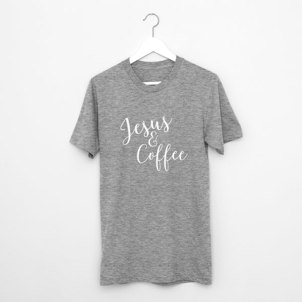 Jesus & Coffee // Short Sleeve - Twelve9 Printing