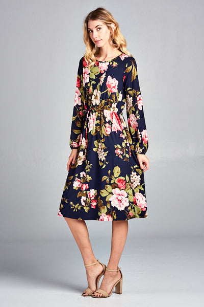 The Emma Midi Dress - Twelve9 Printing