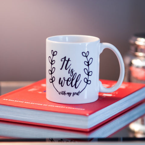 It Is Well // Coffee Mug - Twelve9 Printing