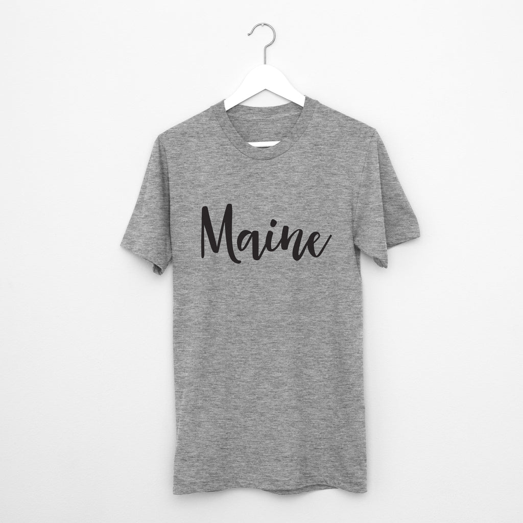 Maine // Short Sleeve - Twelve9 Printing